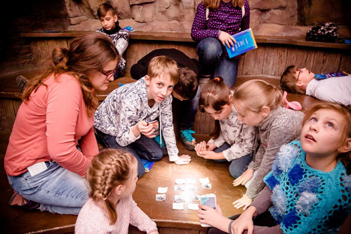 игра квест в помещениях океанариума Крокус Сити