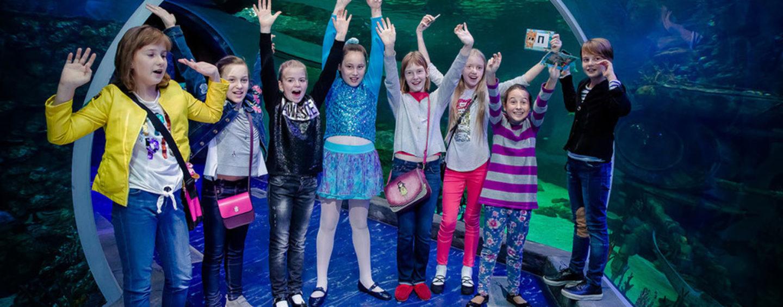 День рождения в Океанариуме: квест для детей 6-10 лет («Крокус Сити»)