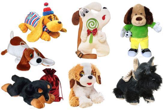 подарки в виде собак