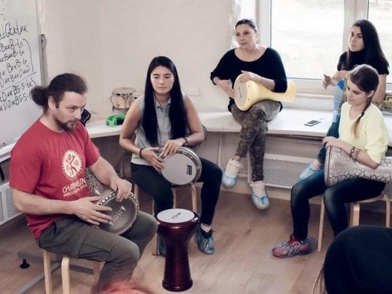барабанный мастер-класс для подростков