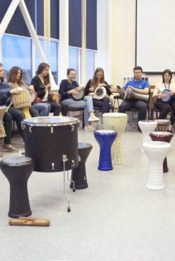 Барабанный квест: игровая программа и мастер-класс для подростков 11-16 лет