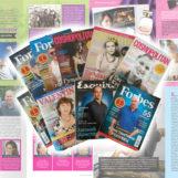 Как заказать создание персонального глянцевого журнала: подарочный экземпляр Forbes, Cosmopolitan, Esquire и т.д