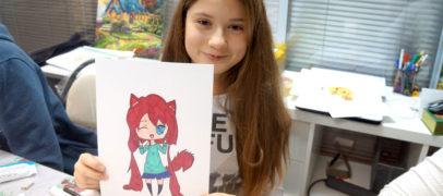 Творческий мастер-класс для подростков 10-12 лет «Рисуем Аниме»