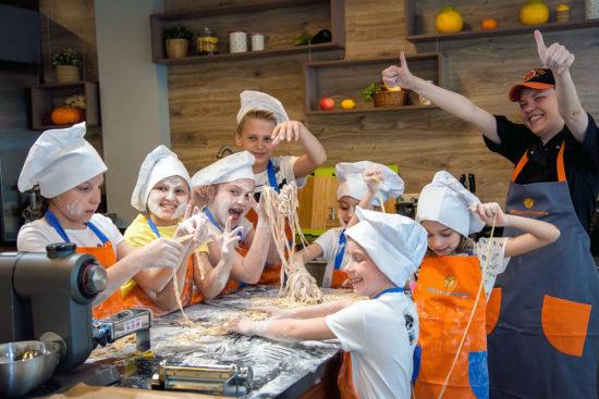 кулинарный мастер-класс для детей в студии