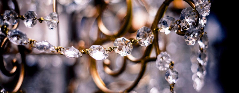Уникальный свадебный декор из готовых элементов: ветви с кристаллами, бутоны, бусины
