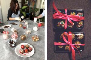шоколадные конфеты мастер-класс для детей