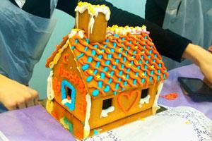 пряничный домик мастер-класс детский