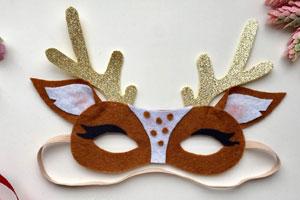 карнавальные маски из фетра