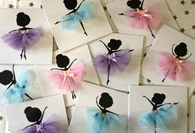 Мастер-класс для детей «Маленькая балерина»: панно с объемной аппликацией