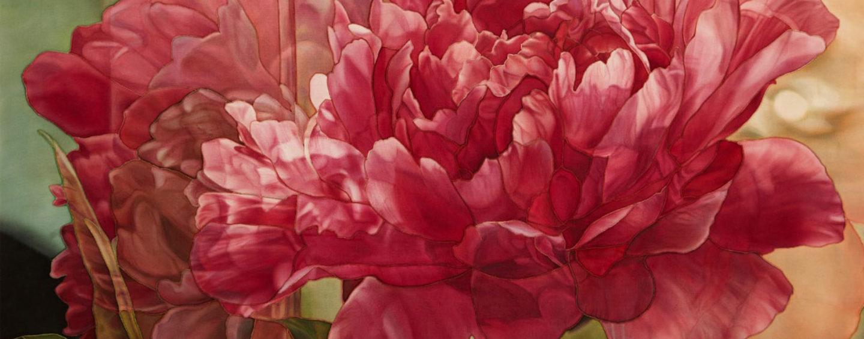 Персональная выставка Риммы Юсуповой. Живопись по шелку «Свечение цвета»