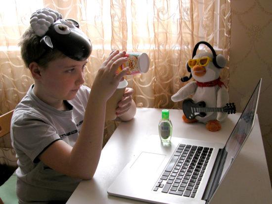 научное интерактивное шоу онлайн