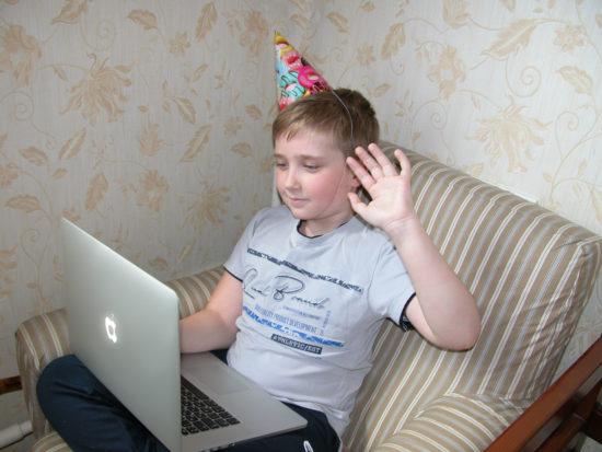онлайн поздравление с днем рождения