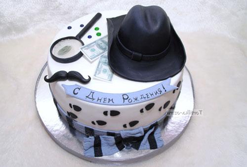 тематический торт на детский праздник