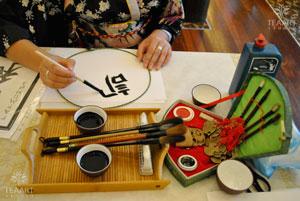 японская каллиграфия - взрослый мастер-класс на мероприятии