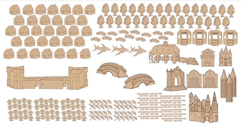 картонный город: тимбилдинг