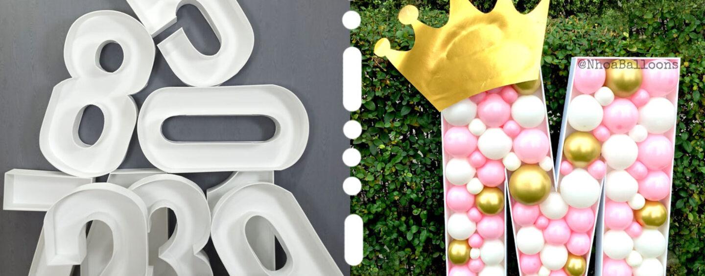 Аэромозаика: шары в жестком каркасе для оформления праздников
