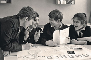 фотопроект исторических школьных фотографий